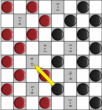 graphic relating to Printable Checkers Board referred to as Addition And Subtraction Game titles Youngsters Will Take pleasure in And Discover!
