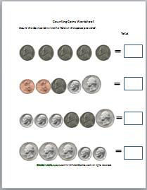 Counting Money Worksheets,Money Games For Kids