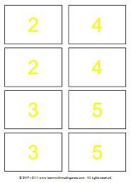 division math games divisor cards