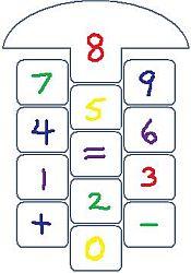 hopscotch math game