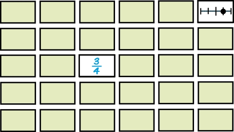 image relating to Fractions on a Number Line Game Printable named Portion Amount Line For Undertstanding Fractions