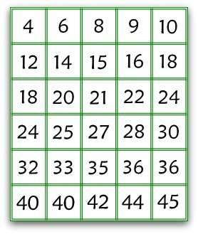 picture about Multiplication Game Printable titled Perfect Cost-free Multiplication Online games That Guidance Youngsters Develop into Superior At