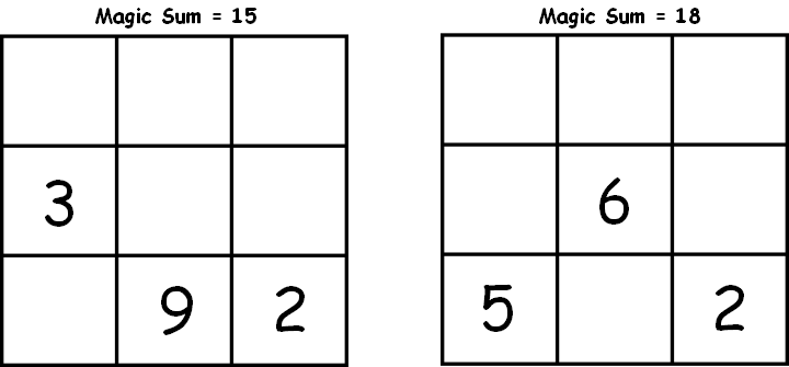 Worksheet Magic Squares Worksheet Kerriwaller Printables – Magic Squares Math Worksheets