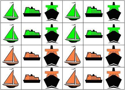 math games for children ships