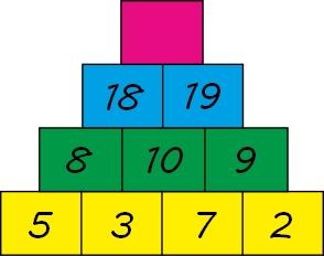 math pyramid teaser