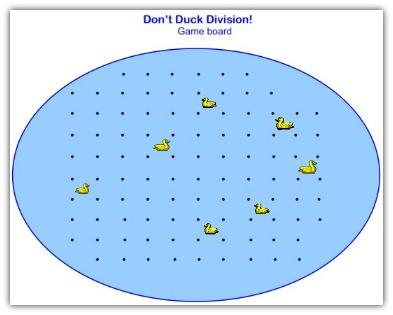 math division game board