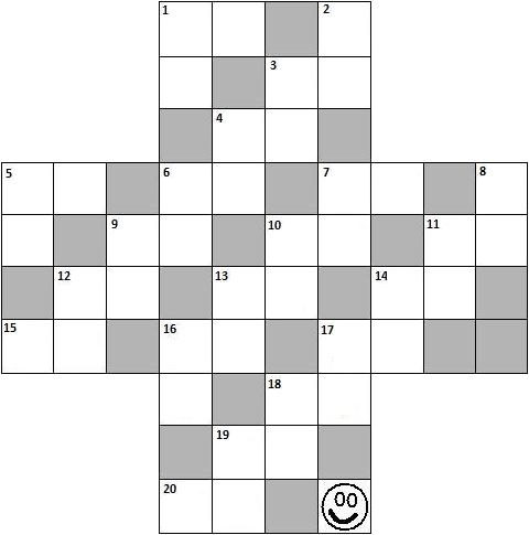 printable math crossword puzzles