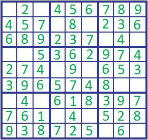 sudoku math puzzles