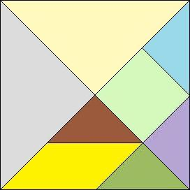 graphic about Tangram Puzzle Printable named Tangram Puzzles,Tangrams,Printable Tangrams