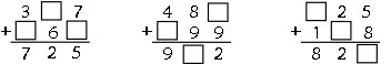 addition fill in logic puzzle